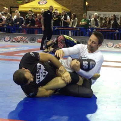 Fran Zuccala straight foot lock